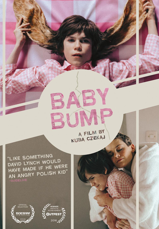 plakat baby bump