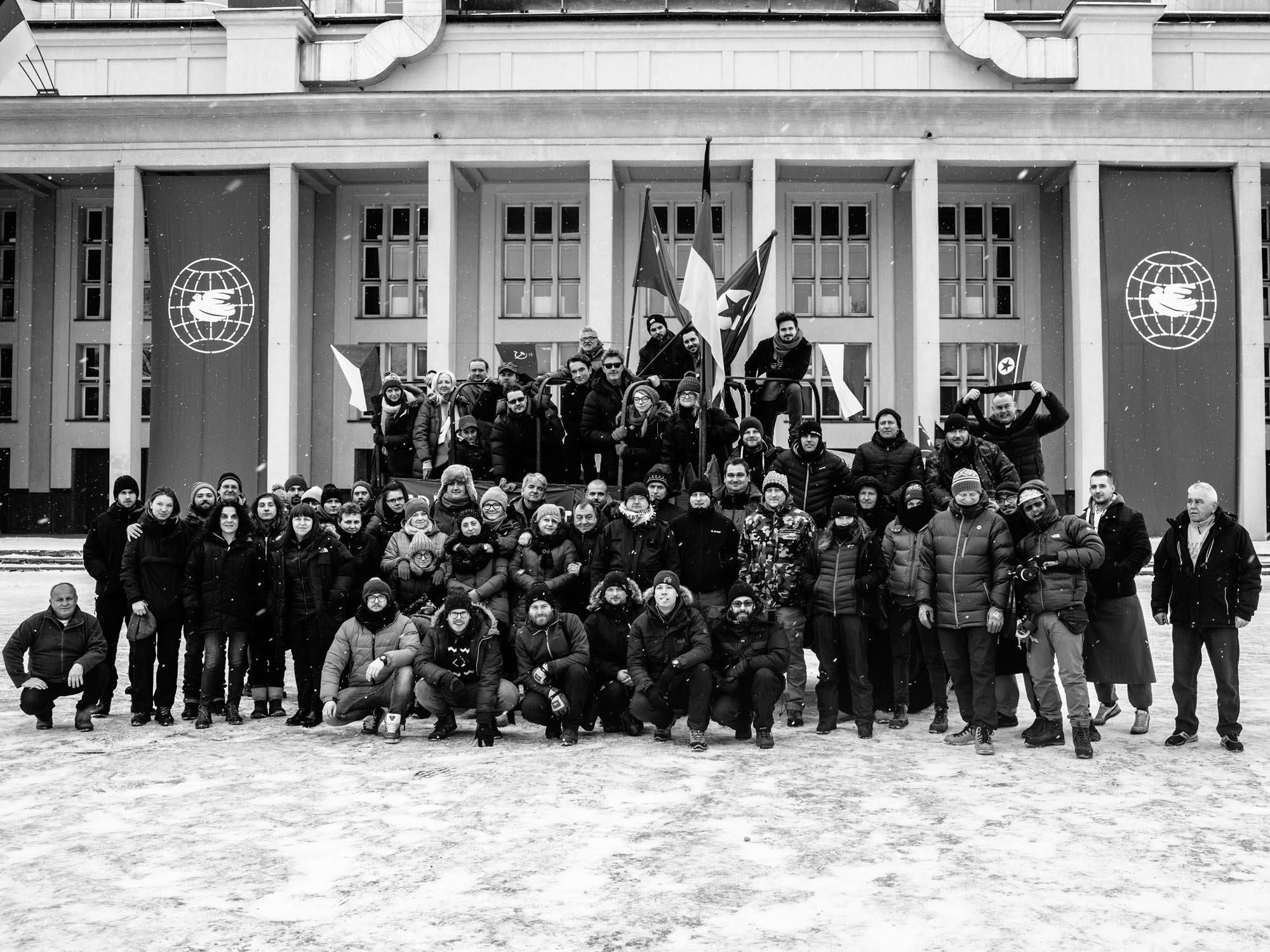 zimna wojna zdjęcie grupowe